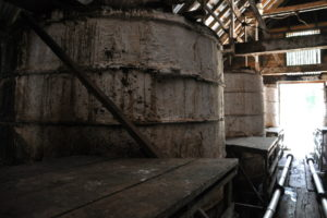 Fermenting Tank at Hampden Estate