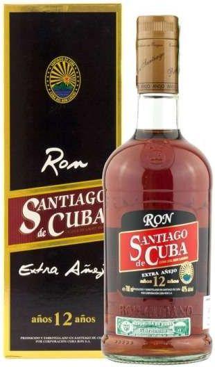 Santiago de Cuba Ron 12