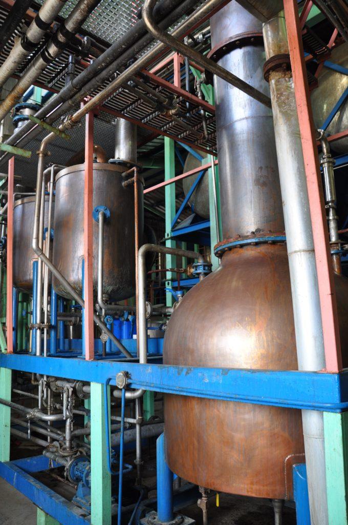 Foursquare Rum Distillery Pot Still