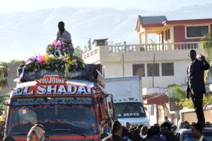 Funerale Port Au Prince