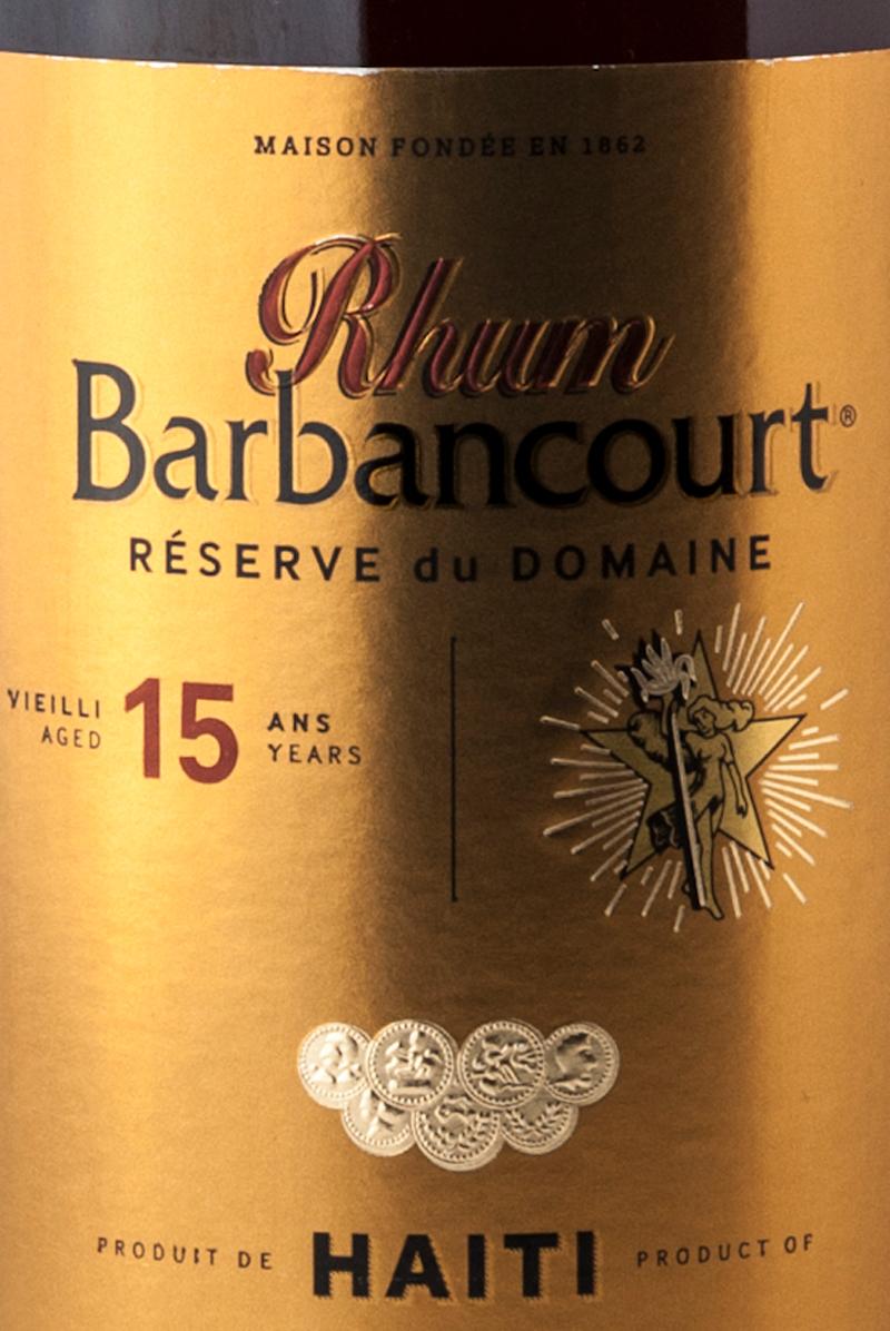 Barbancourt_reserve_du_domaine_15_etichetta