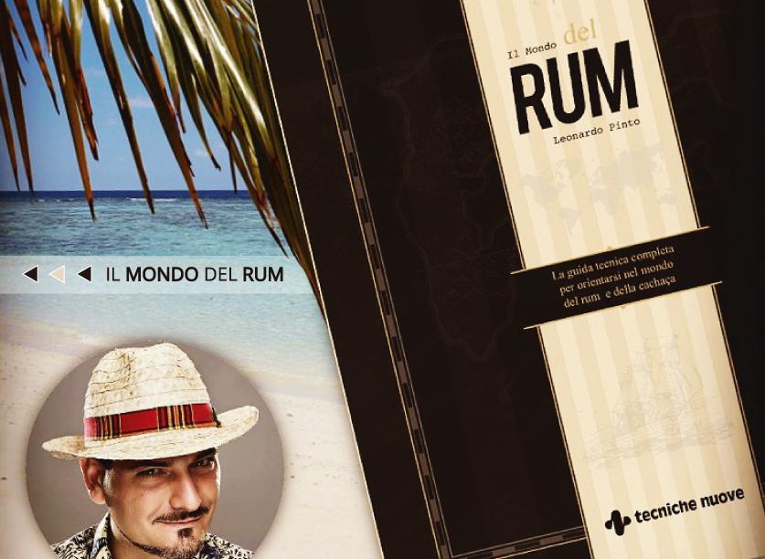 Il mondo del rum di Leonardo Pinto - libro