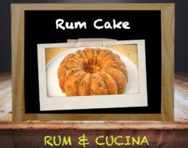 Original Rum Cake - Ricetta